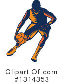 Basketball Player Clipart #1314353