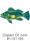 Bass Fish Clipart #1131155