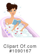 Royalty-Free (RF) Bath Clipart Illustration #1090167