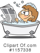 Royalty-Free (RF) Bath Clipart Illustration #1157338