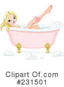 Royalty-Free (RF) Bath Clipart Illustration #231501