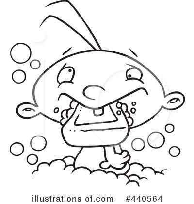Bath Clipart #440564 by toonaday