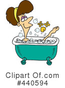 Royalty-Free (RF) Bath Clipart Illustration #440594