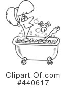 Royalty-Free (RF) Bath Clipart Illustration #440617