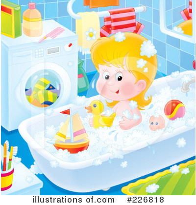 Bath Time Clipart #226818 by Alex Bannykh
