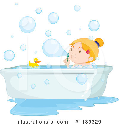 Bathing Clipart #1139329 by Graphics RF