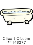 Bath Tub Clipart #1148277 by lineartestpilot