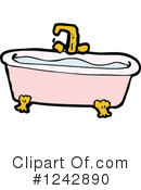Bath Tub Clipart #1242890 by lineartestpilot