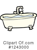 Bath Tub Clipart #1243000 by lineartestpilot
