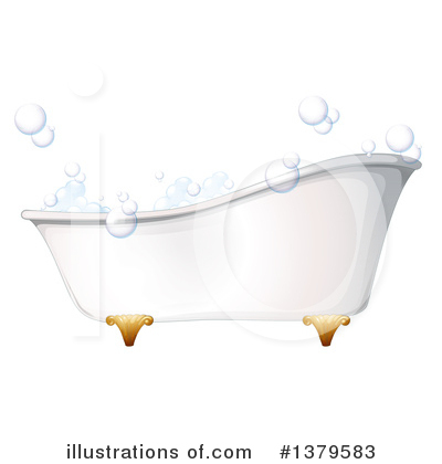Bathing Clipart #1379583 by Graphics RF
