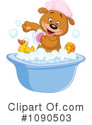 Royalty-Free (RF) Bathing Clipart Illustration #1090503