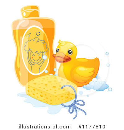 Rubber Ducky Clipart #1177810 by Graphics RF