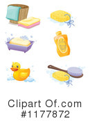 Bathing Clipart #1177872 by Graphics RF