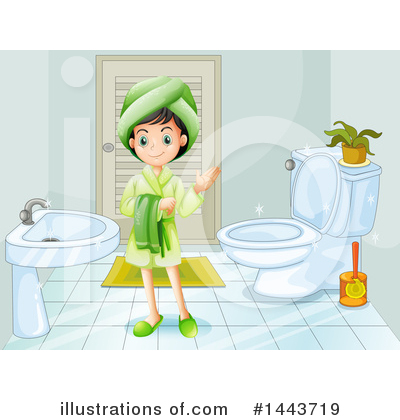 Bathing Clipart #1443719 by Graphics RF