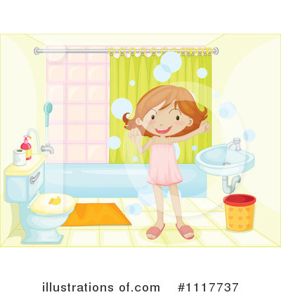 Bathroom on Royalty Free  Rf  Bathroom Clipart Illustration By Iimages   Stock