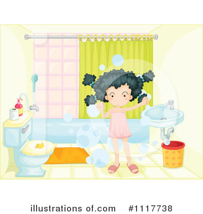 Bathing Clipart #1117738 by Graphics RF