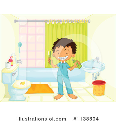 Royalty free rf bathroom clipart illustration by colematt stock