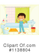 Royalty-Free (RF) Bathroom Clipart Illustration #1138804