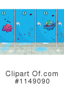 Royalty-Free (RF) Bathroom Clipart Illustration #1149090