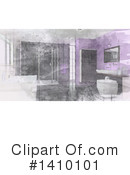 Bathroom Clipart #1410101 by KJ Pargeter