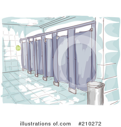 Bathroom Stall Clipart