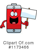 Royalty-Free (RF) battery Clipart Illustration #1173466
