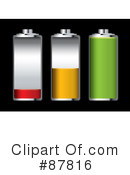 Battery Clipart #87816 by michaeltravers