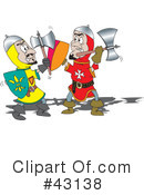 Royalty-Free (RF) battle Clipart Illustration #43138