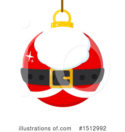 Santa Clipart #1512992 by Hit Toon