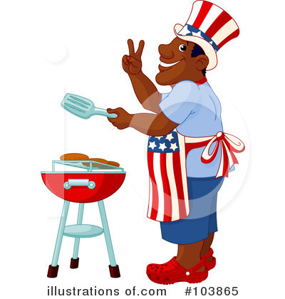 Fourth Of July Clipart #103865 by Pushkin
