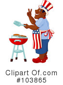 Royalty-Free (RF) Bbq Clipart Illustration #103865
