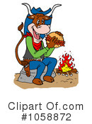 Bbq Clipart #1058872 by LaffToon