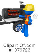 Bbq Clipart #1079723 by Leo Blanchette