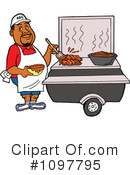Royalty-Free (RF) bbq Clipart Illustration #1097795
