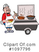 Bbq Clipart #1097796 by LaffToon