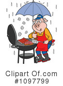 Royalty-Free (RF) Bbq Clipart Illustration #1097799