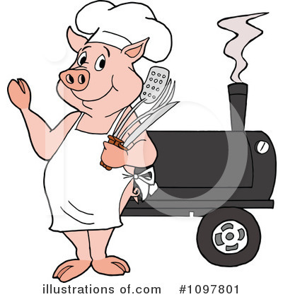 Smoker Clipart #1097801 by LaffToon