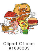 Bbq Clipart #1098339 by LaffToon