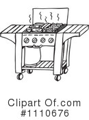 Royalty-Free (RF) Bbq Clipart Illustration #1110676