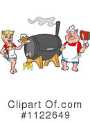 Bbq Clipart #1122649 by LaffToon