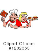 Bbq Clipart #1202363 by LaffToon