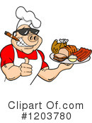 Bbq Clipart #1203780 by LaffToon
