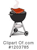 Bbq Clipart #1203785 by LaffToon