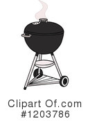 Bbq Clipart #1203786 by LaffToon