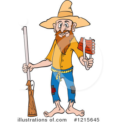 Hillbilly Clipart #1215645 by LaffToon