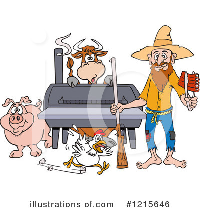 Hillbilly Clipart #1215646 by LaffToon