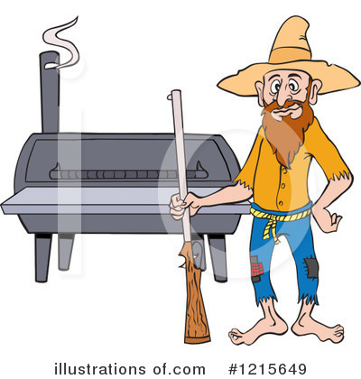 Hillbilly Clipart #1215649 by LaffToon