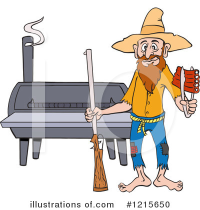 Hillbilly Clipart #1215650 by LaffToon