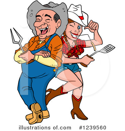 Hillbilly Clipart #1239560 by LaffToon