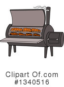 Royalty-Free (RF) Bbq Clipart Illustration #1340516